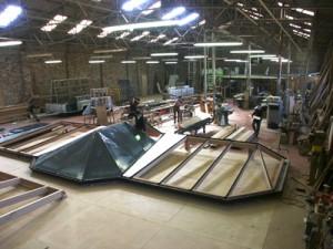Atelier de fabrication Vérandas Tahon